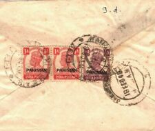 PAKISTAN Cover INDIA KGVI Overprints Karachi Air Mail Jamnagar 1948 DA20