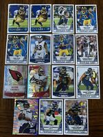 2019 Panini NFL Football Stickers Rams, Cardinal, 49ers, Seahawks  Russel Wilson
