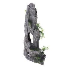 Rockery Hiding Cave Stone Landscape Ornament Resin for Fish Tank Decoration