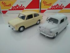 COCHES INOLVIDABLES SOLIDO SALVAT 2001 1/43 DIE CAST SEAT 600,850, FIAT 500, WV