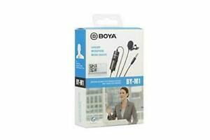 Boya BY-M1 V1 Omni Directional Lavalier Microphone for 3.5mm Jack (UK Stock) NEW