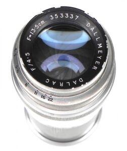 Dallmeyer 13.5cm f4.5 Dalrac Leica SM  #353337