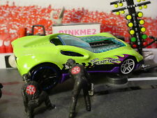 2017 Track Builder System Design CUL8R☆Sublime Green/purple;pr5☆LOOSE Hot Wheels