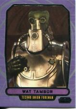 Star Wars Galactic Files Series 1 Base Card #62 Wat Tambor