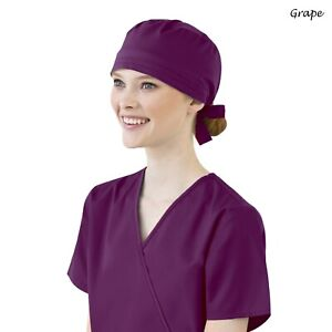 WonderWink WONDERWORK Unisex Medical Solid Scrubs Cap 400