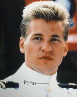 Val Kilmer Signed Autographed 8X10 Photo Top Gun Iceman Classic Close-Up JSA