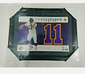 Daunte Culpepper Upper Deck Jersey Numbers Collection #11Limited 87/135 Framed🔥
