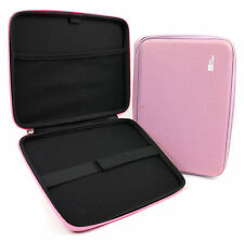 """Pink EVA 10"""" Zip Case With Elasticated Strap for Acer Aspire Switch 10 Tablet"""