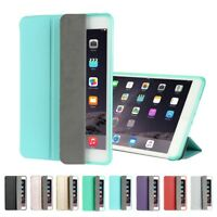 For iPad 2 3 4 Mini /Air 2 Pro Smart Magnetic Leather Case Stand Back Cover