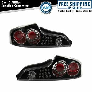 DEPO Performance Tail Light Lamp Assembly Pair for Infiniti G35 Coupe