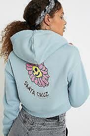SANTA CRUZ DAISY Hoodie size 8 NEW WITHOUT TAG #66