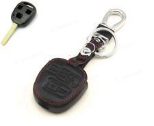 Leather Case Cover Holder For Lexus ES300 GS LS IS LX RX SC Remote Key 3 Buttons