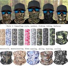 Scarf Headwear Face Snood Shield Sun Neck Tube Gaiter Balaclava Hiking
