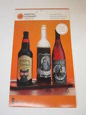 Martha Stewart Crafts - Animal Masquerade Collection - Halloween - Wine Labels