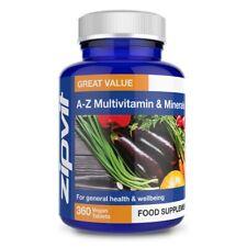 Multi Vitamins and Minerals A-Z Tablets - 27 Vitamins, Minerals & Micronutrie...