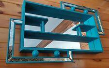 VTG Eames Era MCM Atomic 50's Retro Mirror Tile Shadow Box Wall Decor Display