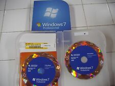 Microsoft  Windows 7 Professional 32/64-Bit DVDs MS WIN PRO =NEW RETAIL BOX=