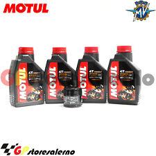 TAGLIANDO OLIO + FILTRO MOTUL 7100 10W50 MV AGUSTA 1000 F4 2006