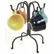 Coffee Cup Storage Rack Organizer Home Countertop Tree Mug Holder Stand