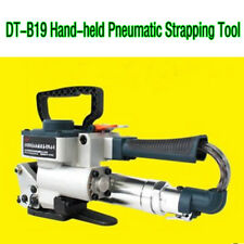 "13-19mm Hand-held Pneumatic Strapping Tool For 1/2""-3/4"" Pp&Pet Strapping 3500N"