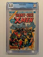 GIANT SIZE X-MEN #1 (July 1975, Marvel) CGC 3.5  WHITE Pages