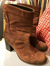 Paul Smith Ladies Suede Boots size 7 / 40 Vintage Style