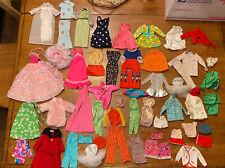 Lot of Barbie & Friends Doll Clothes Clothing Vintage 1960s 1970s 1980s 50+ Pcs