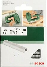 Bosch 2609255829 23mm Type 55 Narrow Crown Staples  Pack of 1000