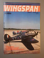 R&L Mag: Wingspan November 1985 3 Commando Brigade Air Squad/Hurricane/Spartans