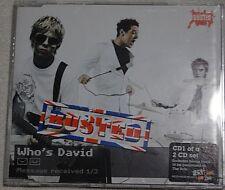 Busted (McFly McBusted) - Who's David - Scarce UK 1trk Single Version promo CD