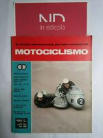 MOTOCICLISMO FEBBRAIO 1968 - NORTON DUNTSTALL 750  LAVERDA REGOLARITA' CORSA 125