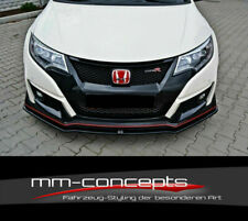 Cup Spoilerlippe CARBON für Honda Civic IX 9 Type R Schwert Frontspoiler Ver1