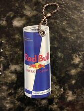 Red Bull Key chain with chain Fans Open  6 Boards Plus Cover New