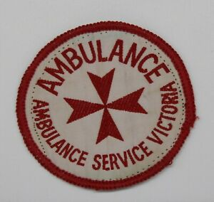 Victoria Ambulance Service Embroidered Patch