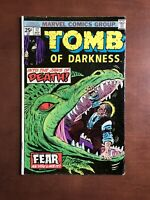 Tomb Of Darkness #17 (1975) 6.5 FN Marvel Key Issue Bronze Age Comic Book Horror