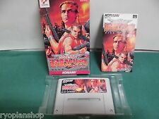 SNES -- CONTRA SPIRITS -- Super famicom, Japan game, work fully!! 12037