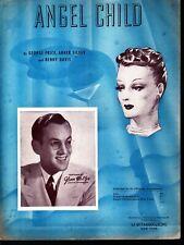 Angel Child 1922 Glenn Miller Sheet Music