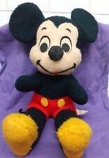 Vintage 1960'S Walt Disney Characters Plush Mickey Mouse Usa Cali Stuffed Toys