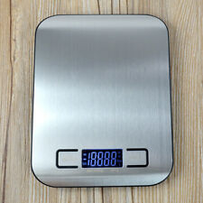 5kg Digital LCD Kitchen Cooking Food Electronic Stainless Steel Weighing Scale