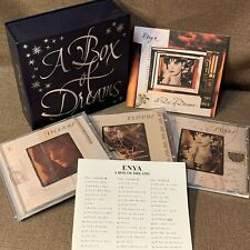ENYA A Box Of Dreams JAPAN 3CD SET WPCR-1802~4 w/JAPANESE BOOKLET 1997 issue