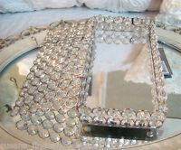 TRINKET jewelery Dresser BOX Austrian Crystal Glass shabby cottage chic GIFT