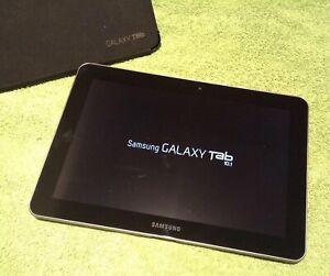 """Samsung Galaxy Tab GT-P7510 16GB, Wi-Fi, 10.1"""" Black Plus Case"""