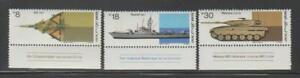 ISRAEL STAMPS 1983 MILITARY EQUIPMENT PLANE SHIP TANK TABS MNH - ISR60