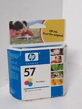 Hp  57 genuine ink cartridge new and sealed