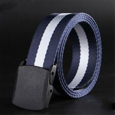 No Metal Belt Buckle Anti-allergic Canvas Nylon Belt Men's Leisure Sports Belt