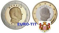 1€  et   2 €     MONACO   PRINCE   ALBERT  2018     NOUVEAU    2018   disponible