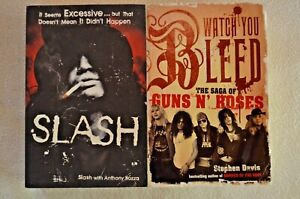 Watch You Bleed The Saga Of Gun's N Roses & Slash With Anthony Booza Paperbacks
