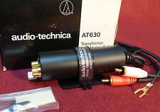AUDIO-TECHNICA AT630 Transformer for moving Coil Phono Cartridge NEW IN BOX