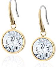 MICHAEL KORS Women's Gold Tone Drop Earrings Large Single Stone MKJ5506710 + BOX