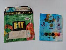 Vintage Rit Easter Egg Color Dying Kit With Original Dye Tablets